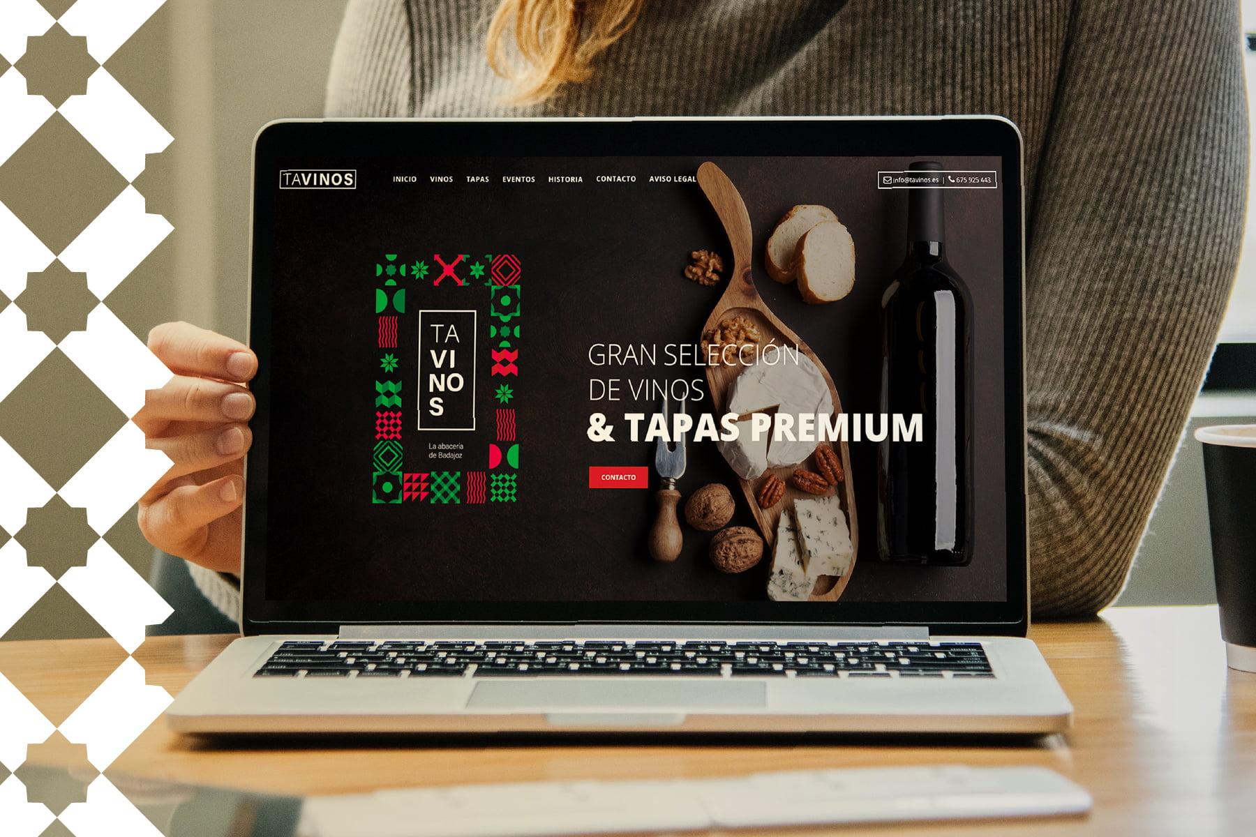 Diseño Web Tavinos