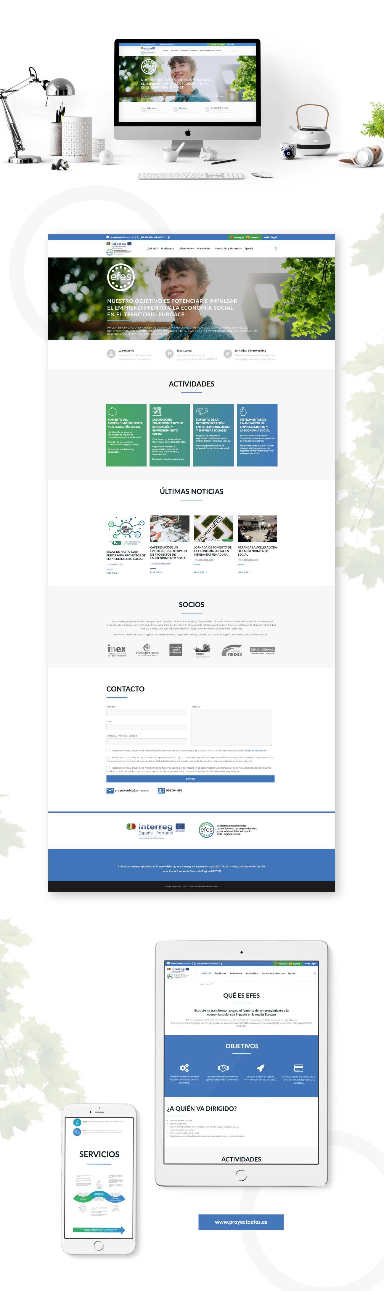 Diseño Web Proyecto EFES