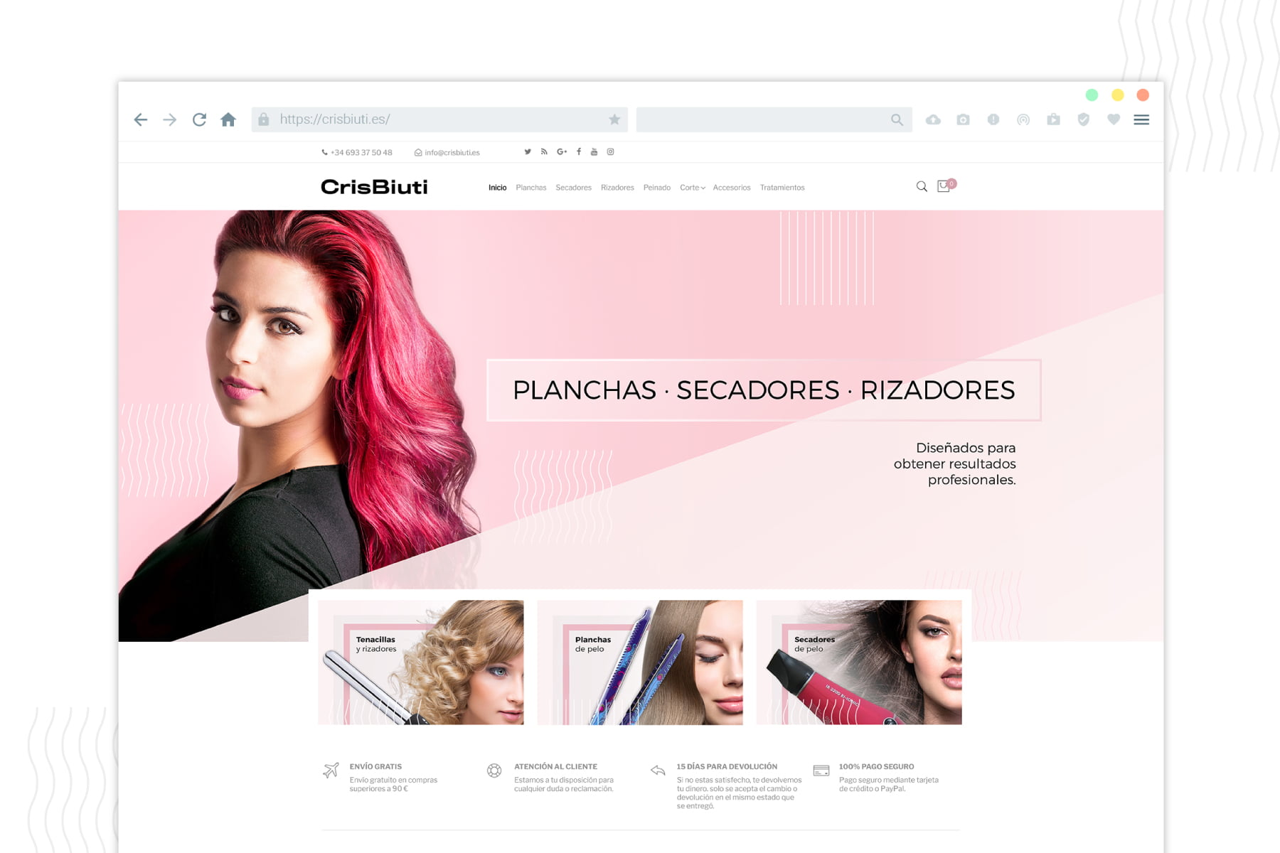 Diseño Web eCommerce Crisbiuti