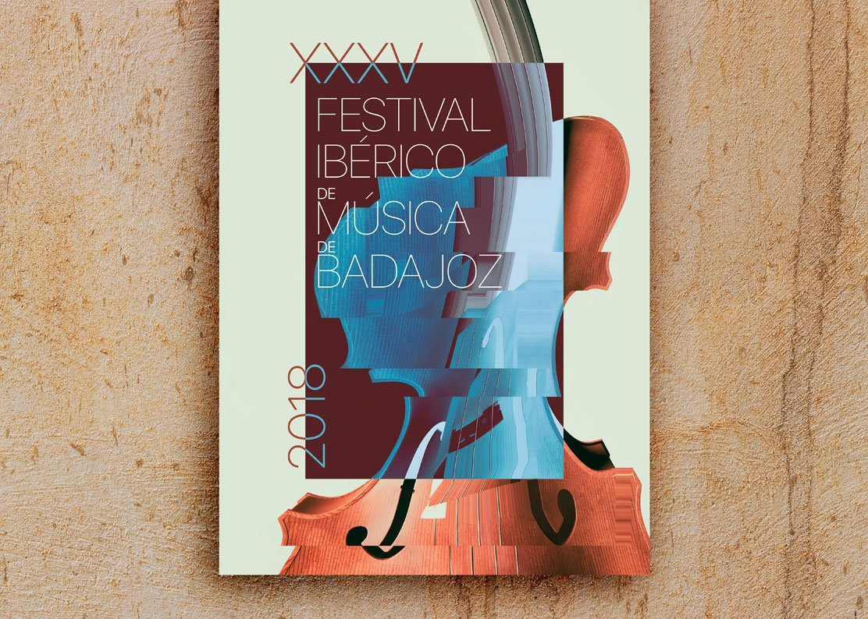 Cartel Festival Ibérico de Música de Badajoz