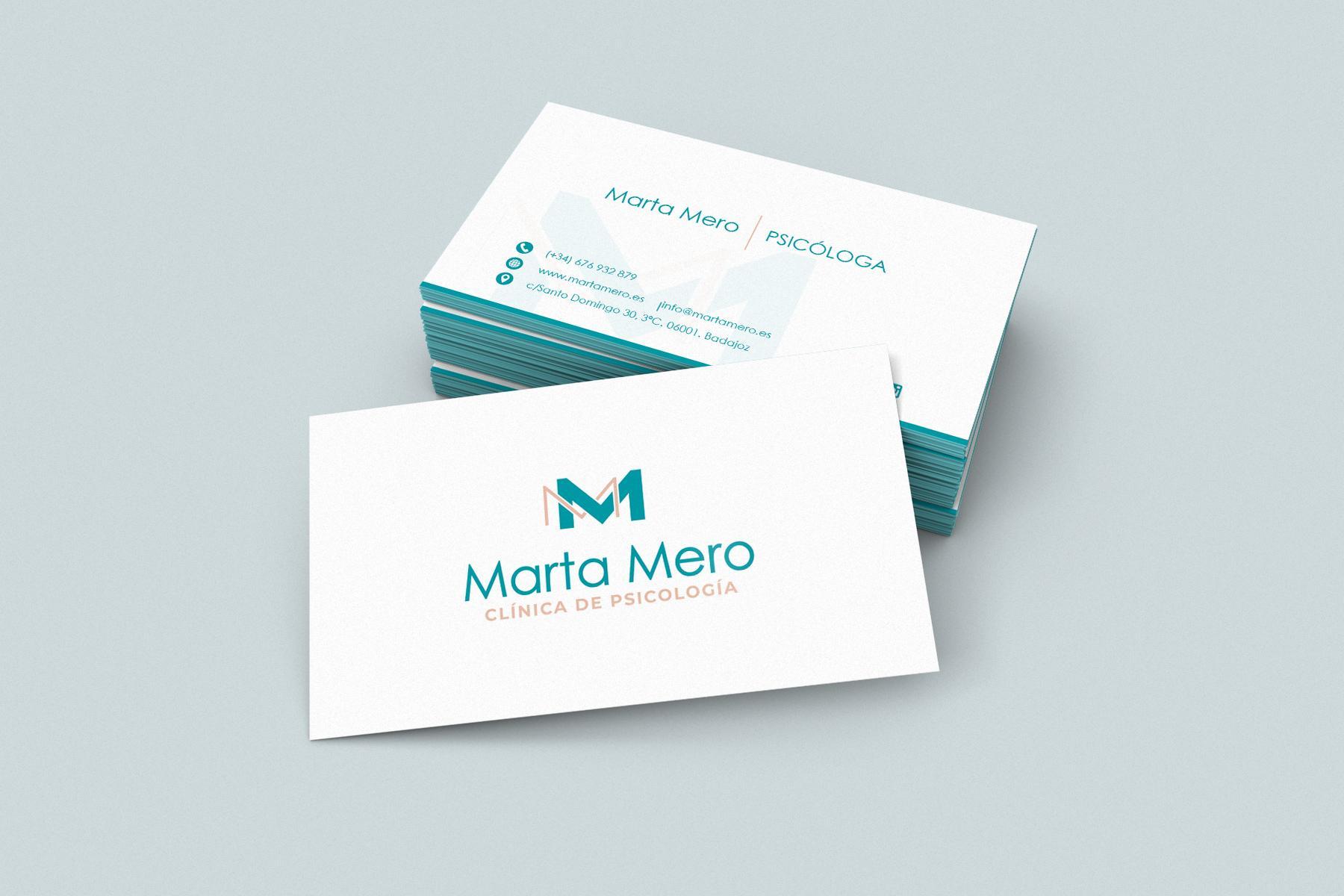 Tarjeta de Visita Marta Mero