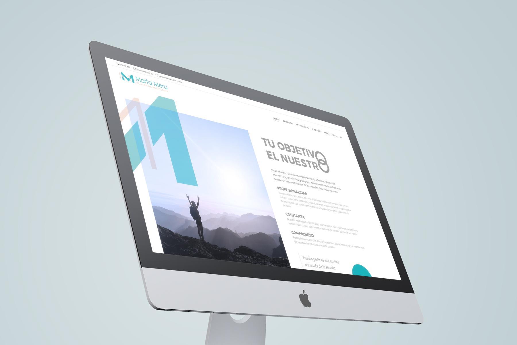 Diseño Web Marta Mero